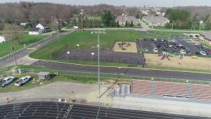 21-4-7 Stadium Lights Installation