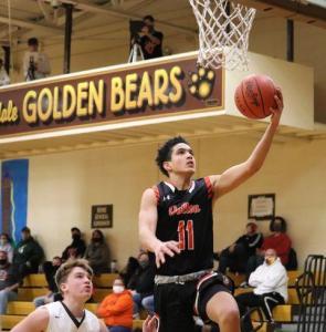 Jan. 2 Dalton Bulldogs varsity boys basketball at Waynedale Golden Bears (Bulldogs won 71-52) PHOTOS BY AMBER DOTY
