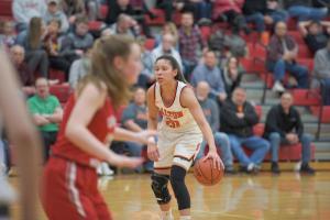 2/26/20 Girls Basketball vs Cuyahoga Hts.